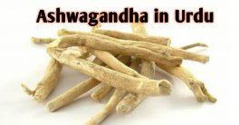 Ashwagandha in urdu